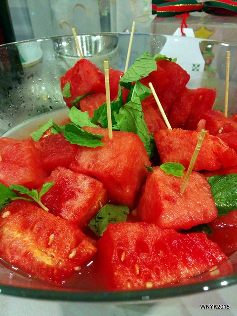 Vodka-Infused Watermelon