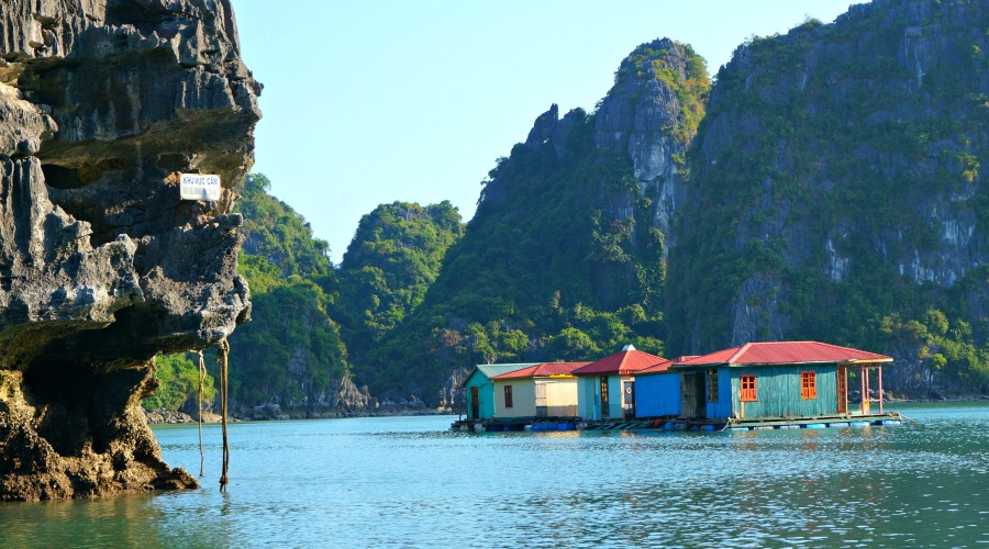 Halong Bay Floating Fishing Village