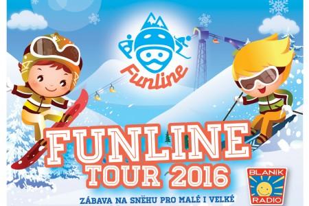 Funline Tour s rádiem Blaník na Monínci