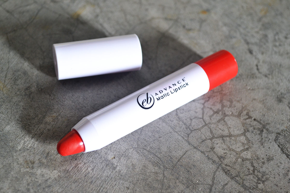 EB Advance Matic Lipstick in High Heels Review and Swatch