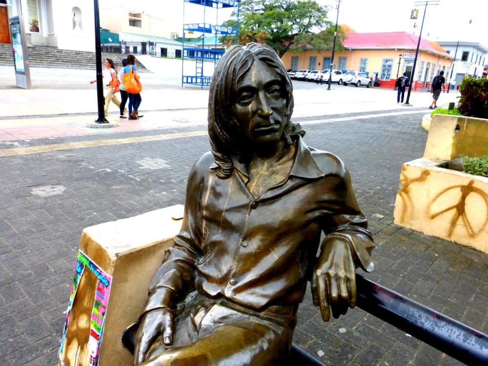 John Lennon Statue In San Jose