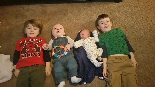 Four nephews