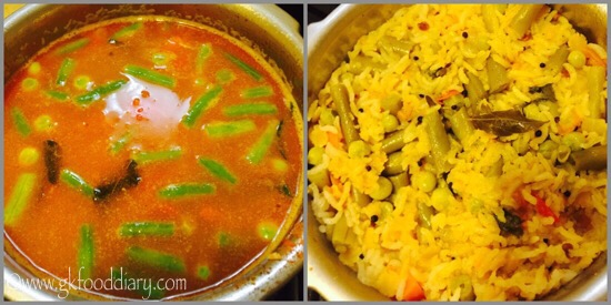 Sambar Sadam Recipe for Babies, Toddlers and Kids - step 6