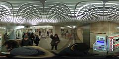 Moscow metro Salarevo frist day