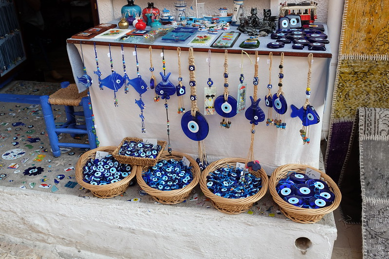 Nazars for sale in Kaş