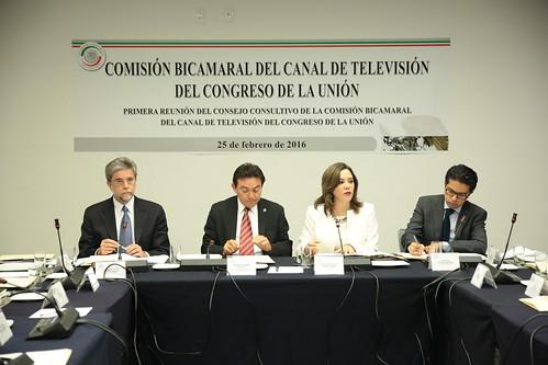 Comisión Bicamaral del Canal del Congreso - 1ª Reunión del Consejo Consultivo
