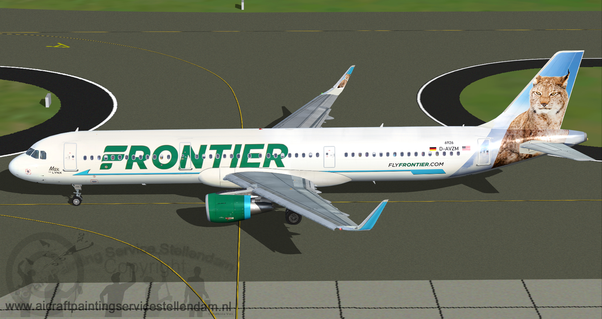 ProjectAirbusA321-211Frontier_Max_The_Lynx_N706FR