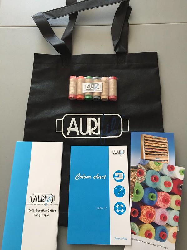 Aurifil swag bag