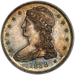 1838 Half Dollar obverse
