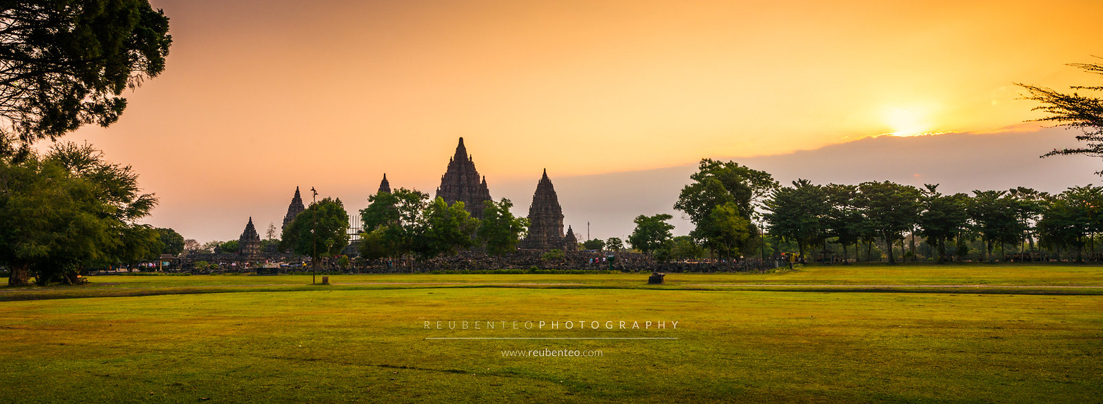 Prambanan Temple Sunset