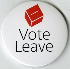 Vote Leave badge, March 2016