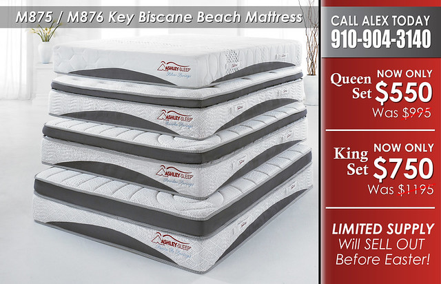 M875 M876 Key Biscane Beach Mattress