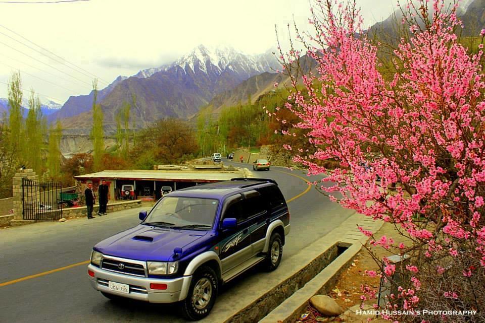 Spring in Hunza Valley, Gilgit Baltistan.