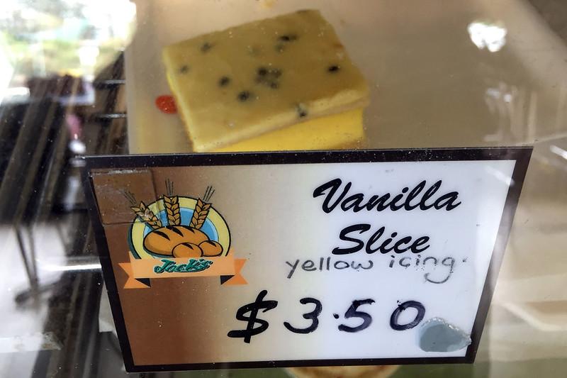 Vanilla slice, Gerringong Bakery