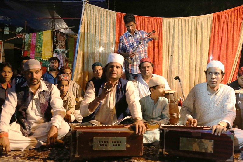 City Moment - The Late Night Street Qawwali, Hazrat Nizamuddin Basti
