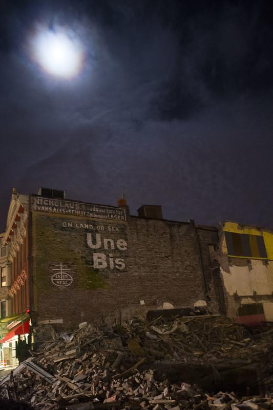 Une Bis (Uneeda Biscuit) sign, Schenectady, N.Y.