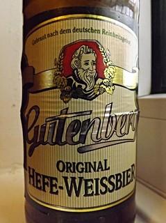 Einsiedler Brauhaus, Gutenberg Original Hefe-Weissbier, Germany