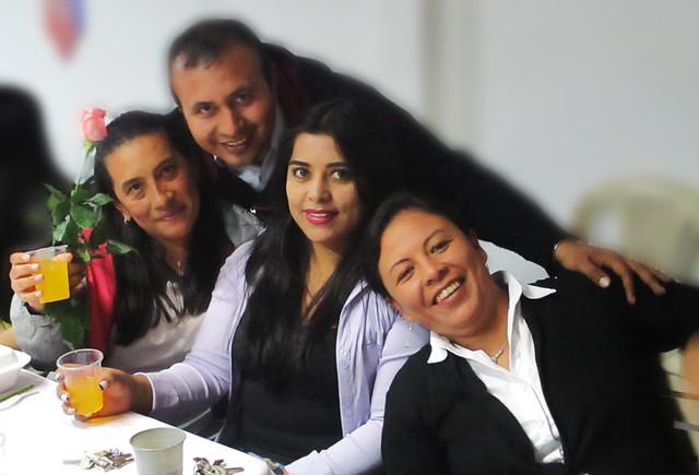 Día de  la Mujer I.E.M Luis Eduardo Mora Osejo