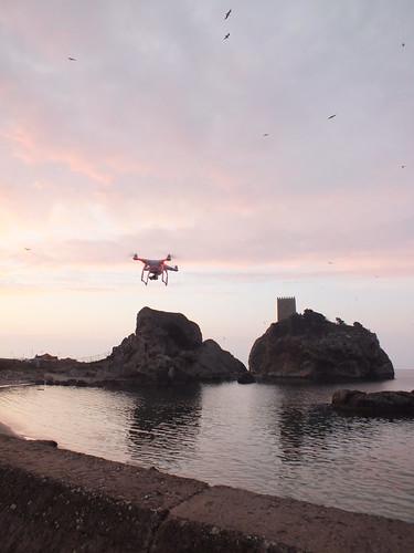 Şile torony és a drón