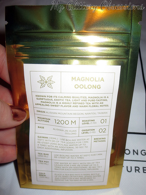 magnolia oolong package