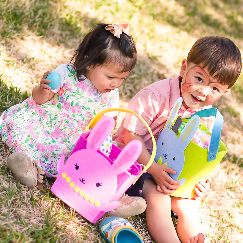 cute & little | petite fashion lifestyle blog | easter egg hunt 2016
