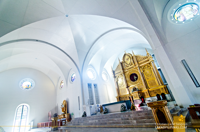 Sto. Niño Church Tacloban Interiors