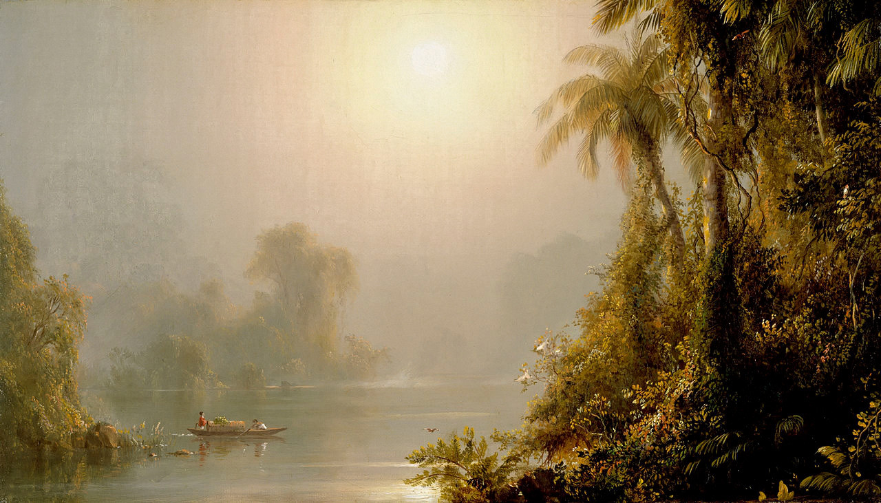 Morning in the Tropics by Frederic Edwin Church, 1858