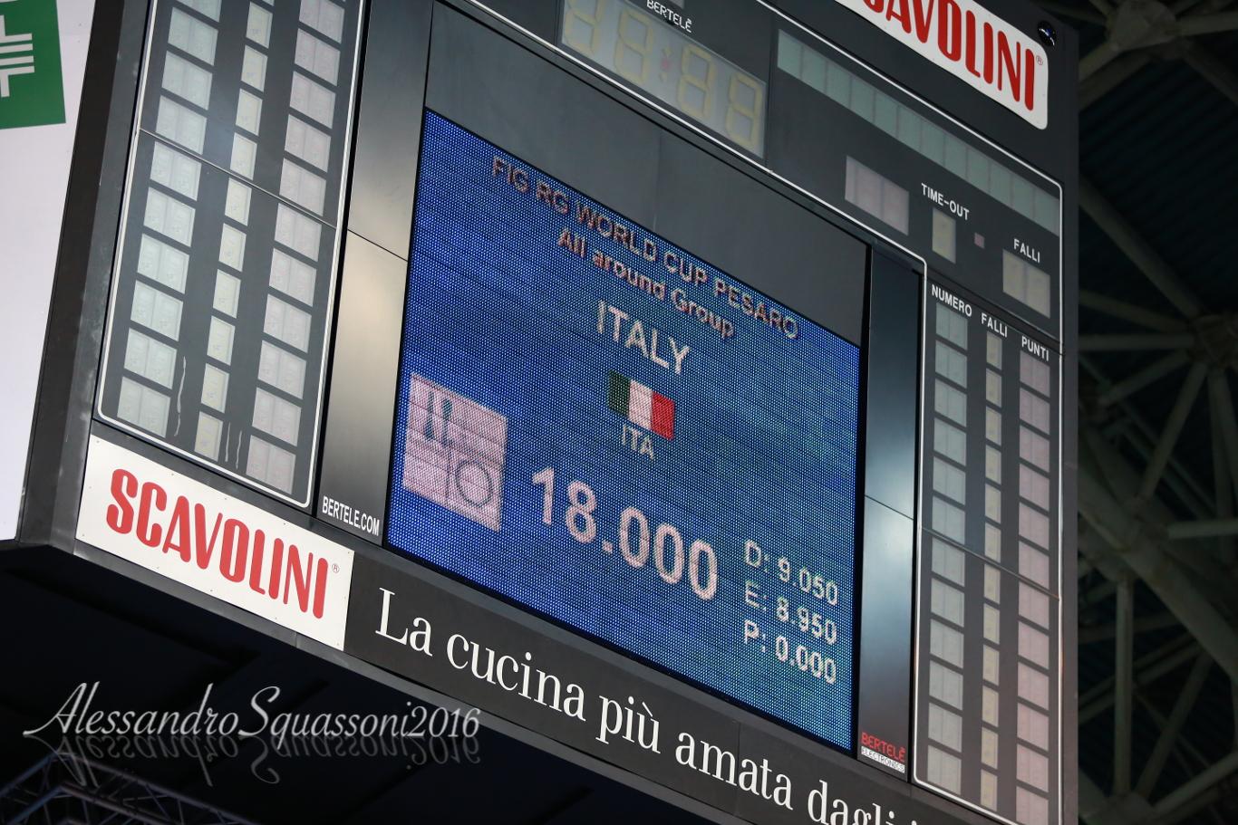 oro all'italia