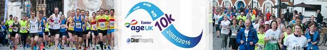 Age UK Exeter 10k Race 2016