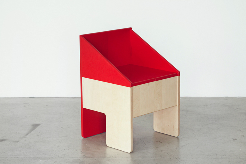 DOLLHOUSE CHAIR FROM TORAFU ARCHITECTS