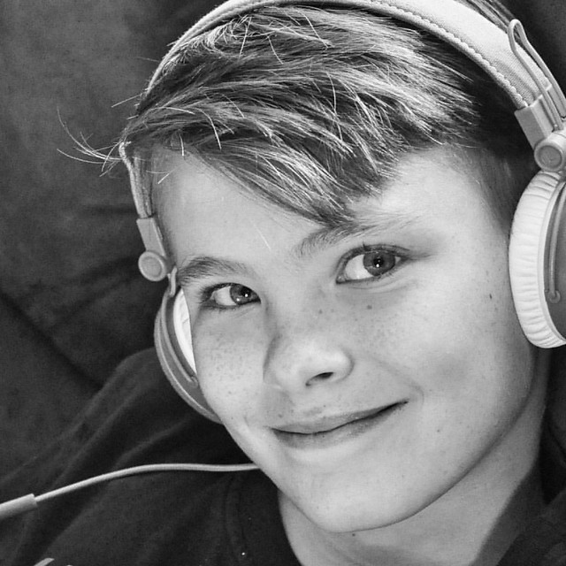 Tween life. ❤ I adore this kid, but I'm not going to lie...11 is an incredibly frustrating age! I love when I catch glimpses of my sweet boy inside all that tween angst!