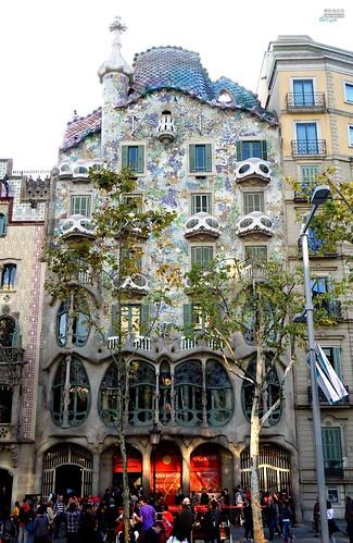 07 Barcelona Gaudi's architecture