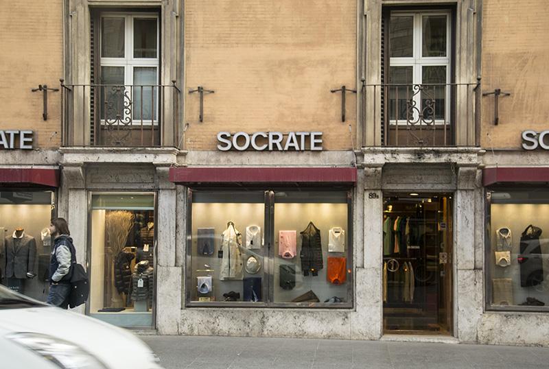Rome Via Nazionale Socrate