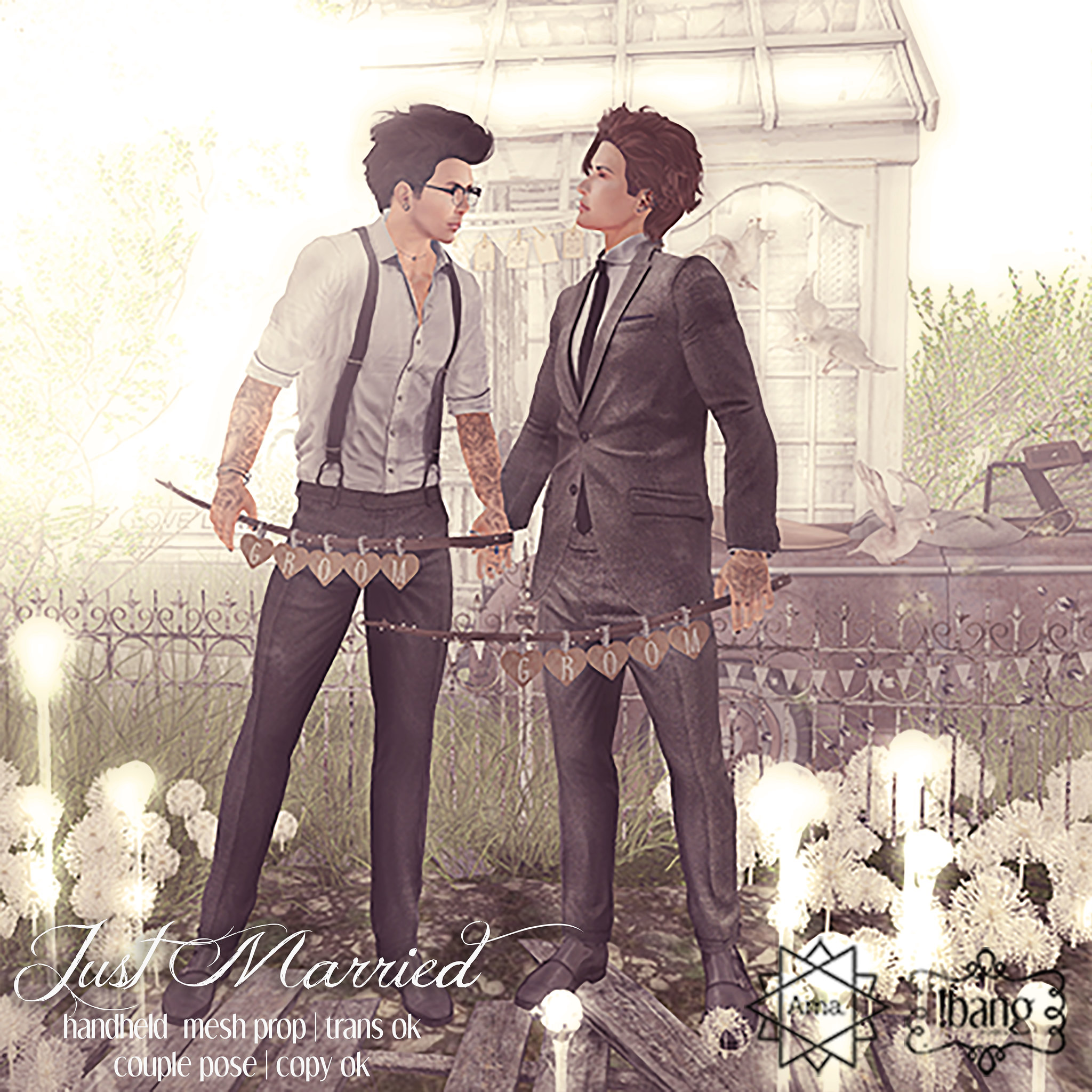 Ama. & !bang - just married MM