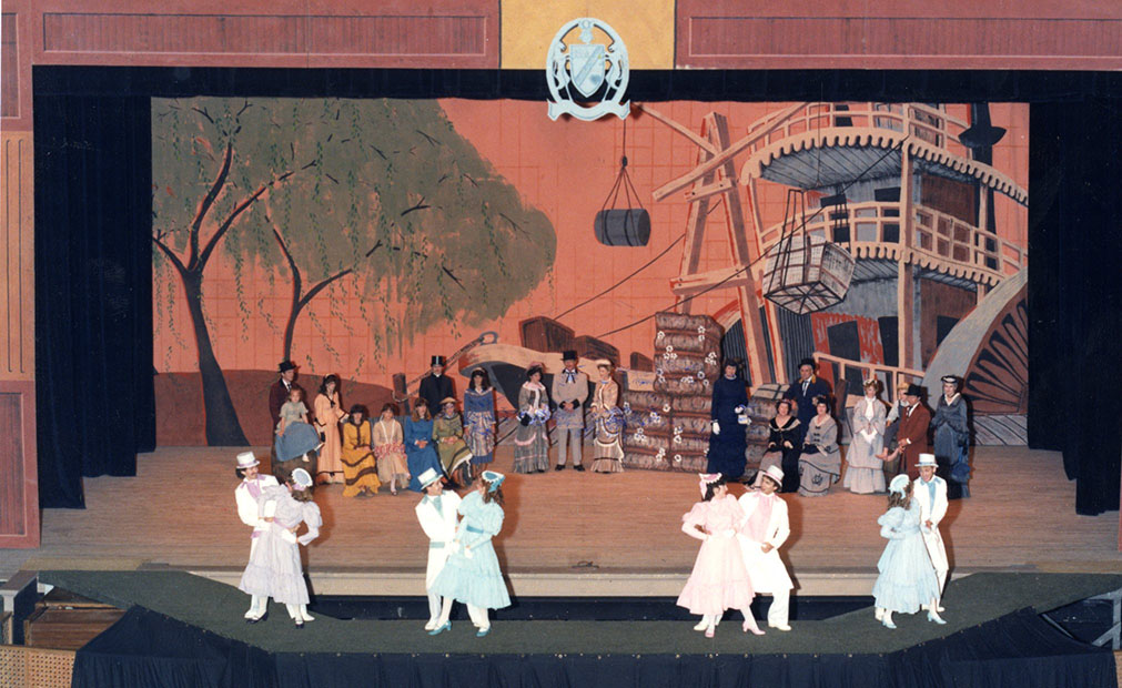 Scene from Waco Scene from the Cotton Palace pageant, 1985