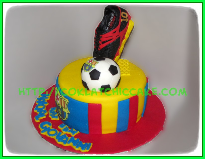 cake barca