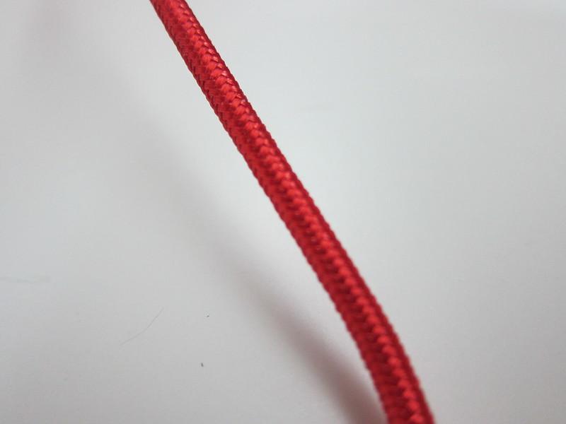 Anker PowerLine+ Lightning Cable - Red Nylon-braidin