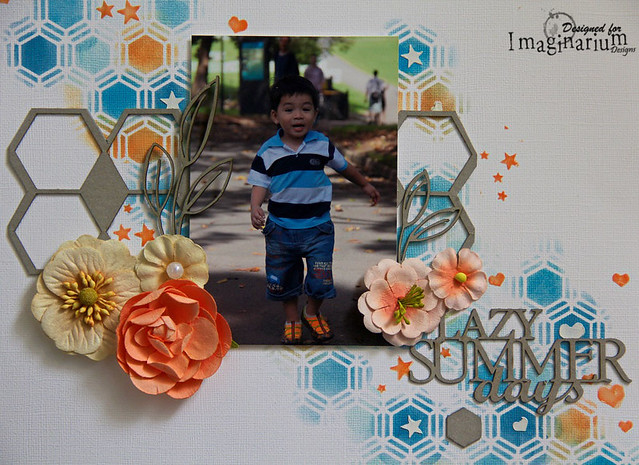 """Lazy Summer Days"" Layout"