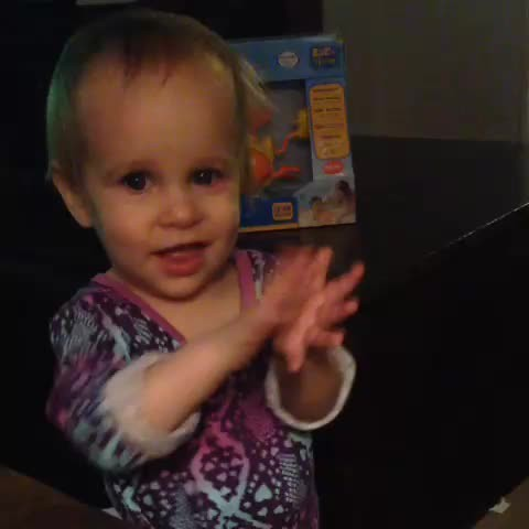We learned how to clap yesterday and now we're slightly obsessed.
