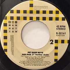PET SHOP BOYS:DOMINO DANCING(LABEL SIDE-B)
