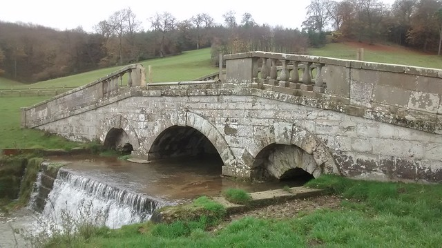 Hovingham Hall Park Bridge