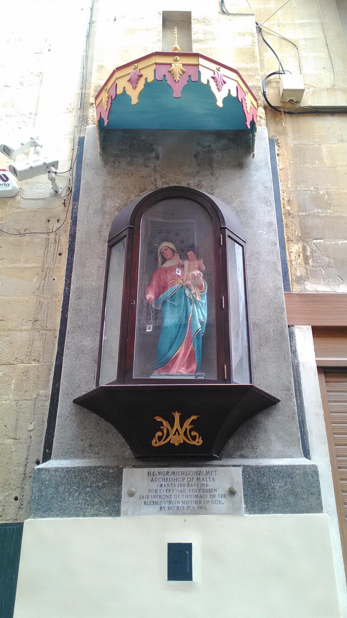 Effigie religiose a Valletta