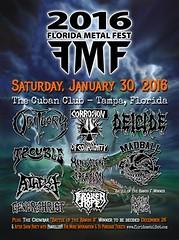 01/30/16 2016 Florida Metal Fest @ The Cuban Club, Tampa, FL