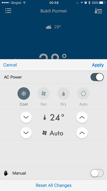 tado iOS App - Command Sets