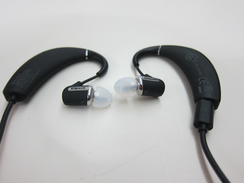 Klipsch R6 In-Ear Bluetooth Earphones - Behind-the-ear Design