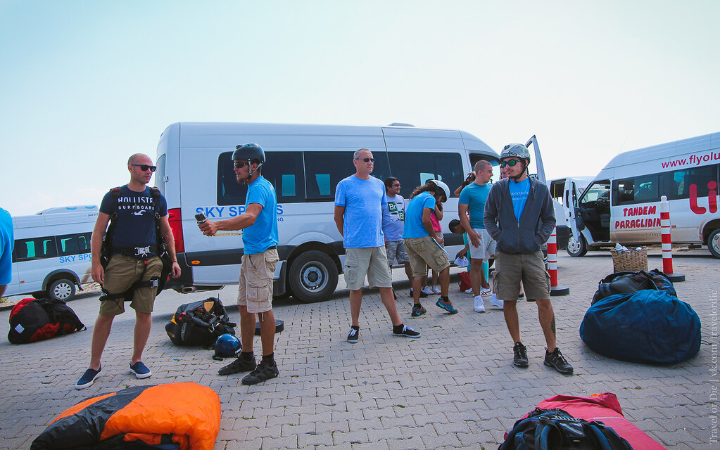 Параглайдинг в Олюденизе