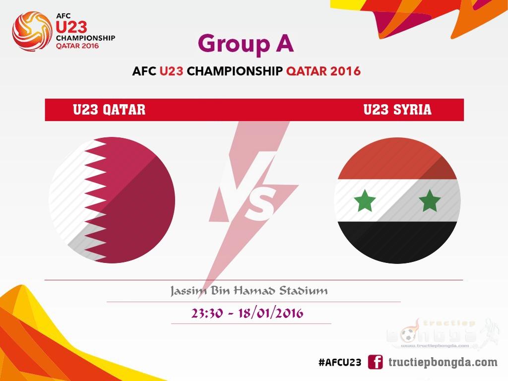 U23 Qatar vs U23 Syria