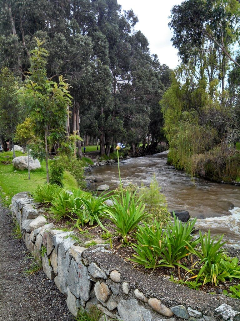 Stream Running Through Cuenca
