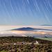 Hawaii Star Trails by geekyrocketguy