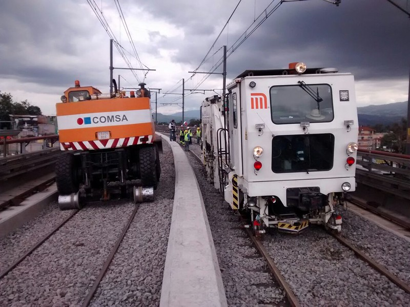COMSA participates in Exporail, the most important railway fair in Mexico